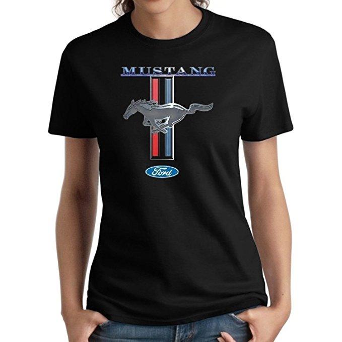 mustang women's t-shirt